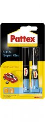 Klej do plastiku HENKEL PATTEX S.O.S. SUPER 2 g + 4 ml