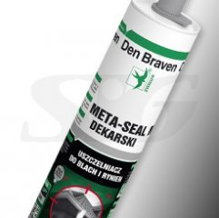 Klej do blach i rynien DEN BRAVEN META SEAL 290 ml