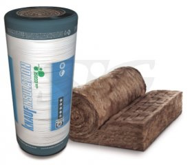 Wełna do poddaszy KNAUF INSULATION UNIFIT 033 λ=0,033 W/mK 100/1200/4400 mm (5,28 m2)