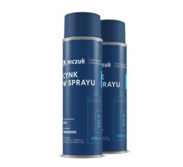 Cynk w sprayu NICZUK METALL 400 ml