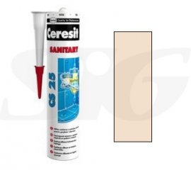 Silikon sanitarny HENKEL CERESIT CS25 karmel 280 ml