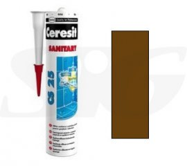 Silikon sanitarny HENKEL CERESIT CS25 brown 280 ml