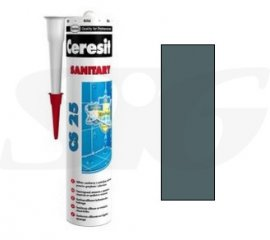 Silikon sanitarny HENKEL CERESIT CS25 iron grey 280 ml